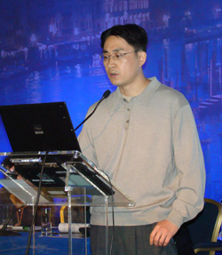 Yangsheng Zhou Oral presentation - Involvement of ETS Factor Spi-B and ID2 in Waldenstrom's Macroglobulinemia.